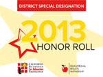 2013 Honor Roll. Special Designation